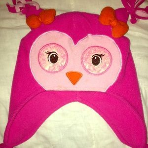 3 for 10$ 💋Owl winter hat 12-24 mo